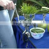 Factory Supply stainless steel wheatgrass juicer