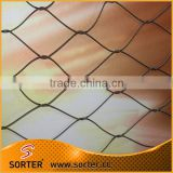 metal stainless steel wire rope protection bird mesh anti bird net