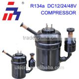 12 V DC Freezer compressor mini piston compressor R134A