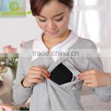 China Guangdong factory cotton nursing clothes for breastfeeding