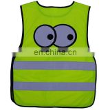 children high visibility road safety Reflective Safety Waistcoat for kids
