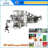 copper water bottle filling capping and labeling machine
