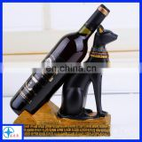 egyptian wine rack statues of cats animal wine rack