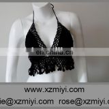 black crochet bikini customized swimwear sexy hot girl bikini