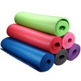 RUIBOO Yoga Mat 1/2-Inch Extra Thick High Density NBR Exercise Mats for Pilates, Fitness & Workout with Carrying Strap