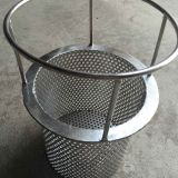 Chinese manufacturer custom-made strainer replacement basket, and perforated wire mesh cloth, spare parts