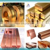 Customized design 2.1293 copper square/round earthing bar/gounding rod