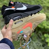 Nike X Off-White Air Max 90 with Black for nike clearance sale