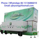 13 m   Mobile LED advertising stage truck