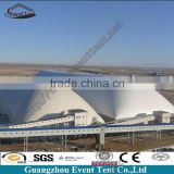 High quality fire retardant steel structure inflatable outdoor tent for event for toll stations