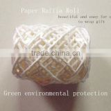 White Hemp Rope Ribbon Roll / Paper Rope For Gift Wrapping or Everyday Packing