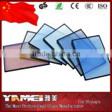 4mm-10mm CE & ISO certificate best price Bronze, Grey, Blue, Green and Pink reflective glass