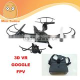 drone quadcopter with hd camera wifi drone HD1335 fpv racing drone with VR box VS syma drone