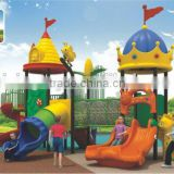 Outdoor Amusement Park Equipment Puzzle Plastic Slide