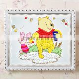 Lovely cute colorful cartoon first hand work creative material kids button mosaic puzzle drawing