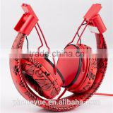 wholesale super bass 3.5mm fashion folding free sample earbuds for mobile