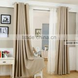 Guangzhou wholesale led window curtain fabric designs for living room office curtain