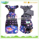 ananbaby prints AI2 charcoal bamboo cloth diapers wholesale                                                                                                         Supplier's Choice
