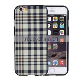 Cheap TPU Case for iPhone 5s England Style Back Cover for iPhone SE Soft Gel Rubber Case Grid Check Grain Shell SLD MT-5805