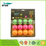 12 pack plastic beer table tennis balls
