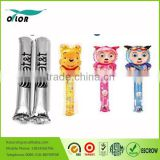 2016 Promotion Advertising Air Stick Cheering Stick Blow Cheer Stick Clapper Stick Balloon/Inflatable Clap Stick Balloon