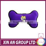 Doggie Plush Bone Shape Dog Toy with Bouncer