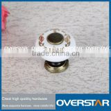 small box with crystal knob,made in china crystal knobs, hotsell furniture diamond round crystal knob