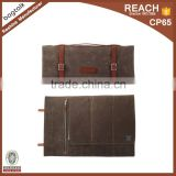 KL002 Alibaba China Wholesale Waxed Canvas Kitchen Accessories Knife Chefs Set Roll Bag                                                                         Quality Choice