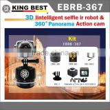 KING BEST wifi action waterproof 360 Degrees portable wifi action camera Timelapse Pan Head action camera Timelapse Pan Head