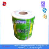 kpet printing polyethylene wrapping film airtight packing plastic film roll with plastic pallets