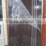 interior bedroom doors,electric static powder coating galvanized steel panel door with pvc film covered