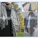 polyester classical design shawl scarf