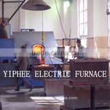 Factory price!! 1500kg Precious metal melting induction furnace