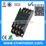 PYF14A General Purpoe Mini 250VAC 7A PCB 14 Pin Automatic Plastic Solid State Relay Socket with CE