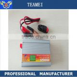 Car DC 12V 24V to AC 220V 1500w solar pure sine wave Inverter with charger