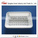 Plastic Microwave Heated Food Tray