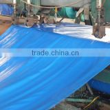 blue tarpaulin high density polyethylene leno woven fabric double gblue custom size all purpose truck/boat outdoor cover china