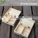 custom-made Primary solid wood box With cover box Solid wood small wooden Wood is storage