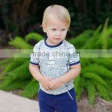 dave bella 2013 summer 100% cotton printed baby T-shirt babi outwear baby clothes DB150                                                                         Quality Choice