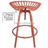 Esschert Design tractor shaped adjustable vintage industrial cast iron chair