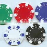 Hot selling popular 11.5g clay/ceramic dice casino poker game chips with custom logo printing                                                                         Quality Choice