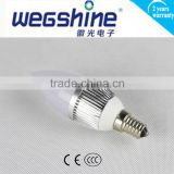 Powerful E14 3W price led candle bulb light, led candle bulb, led candle wholesale wegshine