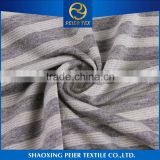 China manufacturer anti static poly cation span brushed fabric tiger head fabric gold jacquard fabric