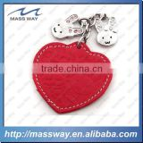 customized promotion fashion rabbit 3d heart metal red leather keychain                                                                         Quality Choice                                                     Most Popular