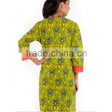 Bollywood style kurti Party Designer Cotton kurti tunic / beachweartunic