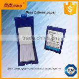 blue Litmus paper Acid base test paper for lab
