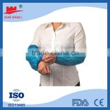 Medical Surgical Products Disposable PE Polyethylene Sleeve Covers Arm Sleeves