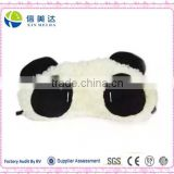 Lovely panda eye mask plush panda sleep toy                                                                         Quality Choice