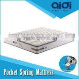 Deluxe 5-Star Hotel Bedroom Furniture Foam Latex Pocket Spring Dreamland Mattress CLT-FP25