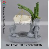 Polyresin Handmade Sleeping Budda Oil Burner